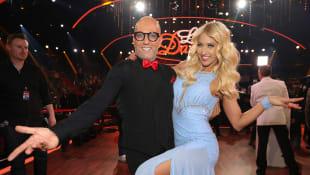 """Thomas Rath und Kathrin Menzinger bei """"Let's Dance"""" 2019 auf RTL"""