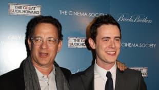 Tom Hanks und Colin Hanks