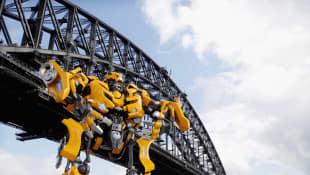 "Der Roboter Bumblebee aus ""Transformers"""