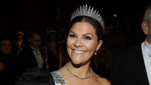 So hübsch war Prinzessin Victoria bei der Nobelpreisverleihung