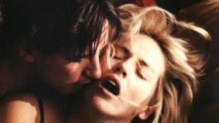 """William Baldwin und Sharon Stone in """"Sliver"""""""
