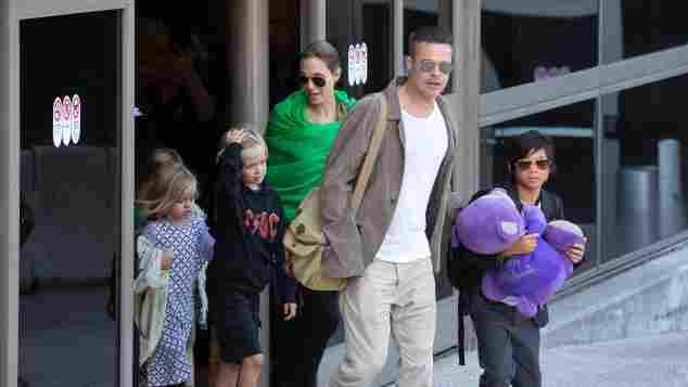 Angelina Jolie Brad Pitt Kinder