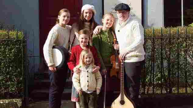 Angelo Kelly hat mit seiner Familie ein Album aufgenommen