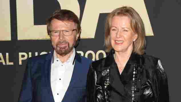 Björn Ulvaeus und Anni-Frid Lyngstad