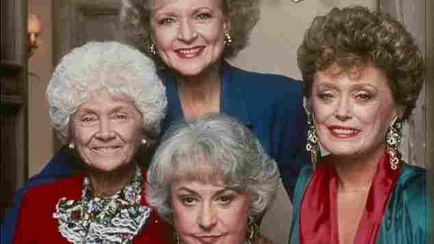 """Betty White, Estelle Getty, Beatrice Arthur und Rue McClanahan waren die """"Golden Girls"""""""