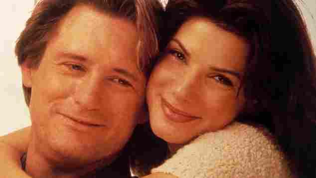 """Bill Pullman und Sandra Bullock in """"Während du schliefst"""""""