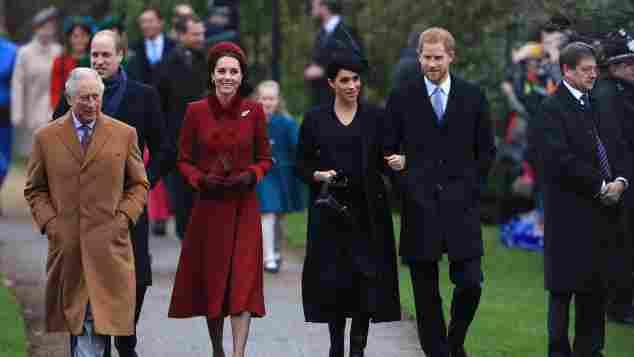 Die seltsamen Spitznamen der britischen Königsfamilie wurden enthüllt Harry Meghan Charles Queen Elizabeth Listengeschichten