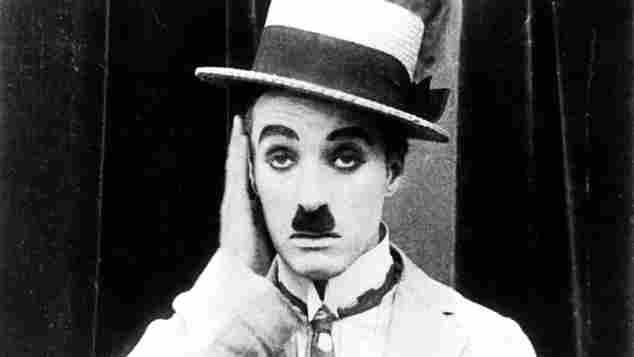 Charlie Chaplin im Jahr 1917