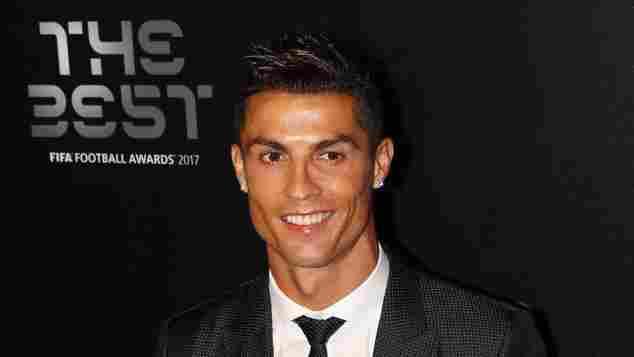 """Cristiano Ronaldo, """"The Best FIFA Football Awards"""", """"Real Madrid, 2017"""