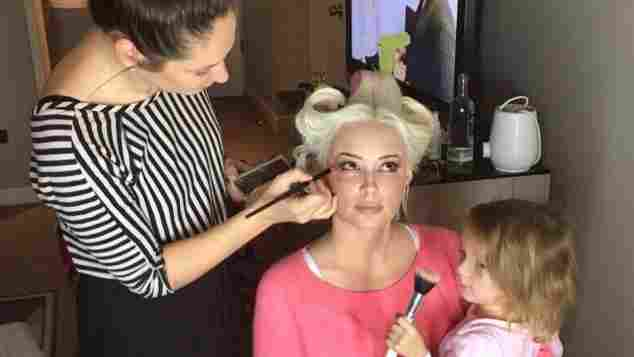 Daniela Katzenberger Sophia Make-up