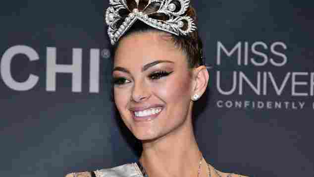 Demi-Leigh Nel-Peters Miss Universe 2017