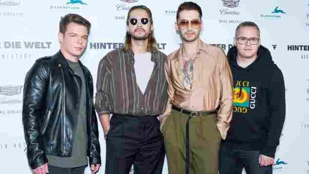 Die Jungs von Tokio Hotel 2017