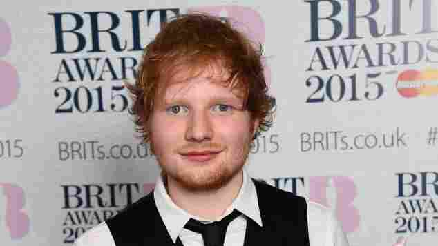 Ed Sheeran bei den BRIT Awards