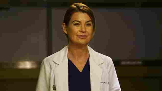 """Ellen Pompeo alias """"Dr. Meredith Grey"""" in """"Grey's Anatomy"""""""