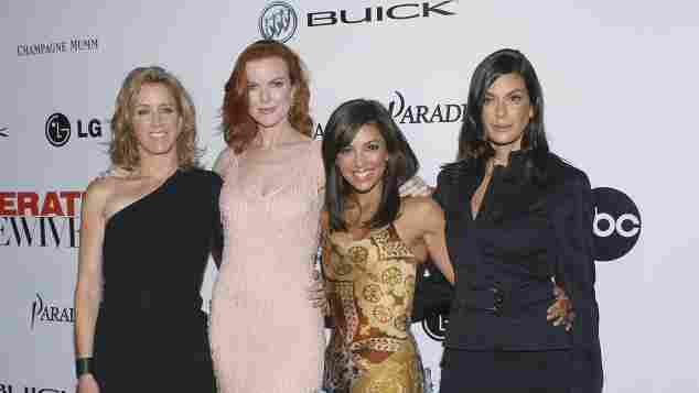 Felicity Huffman, Marcia Cross, Evy Longoria und Teri Hatcher