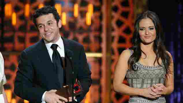 """Fred Savage (""""Kevin"""") und Danica McKellar (""""Winnie"""") bei den TV Land Awards"""