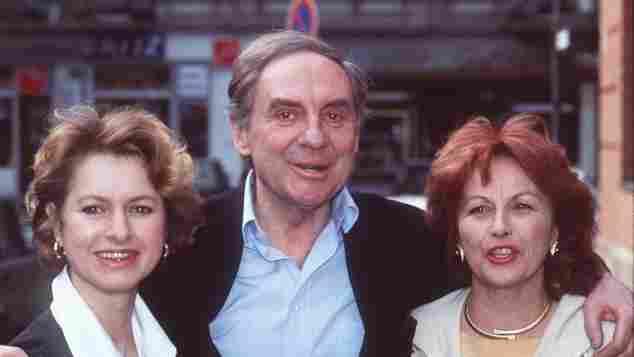 Gabriele Schramm, Harald Juhnke und Brigitte Grothum