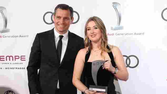 Audi Generation Awards Gina-Maria Schumacher Michael Mronz