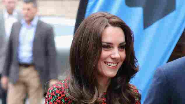 Herzogin Kate: Dieses Kleid von Vanessa Seward kostet circa 740 Euro