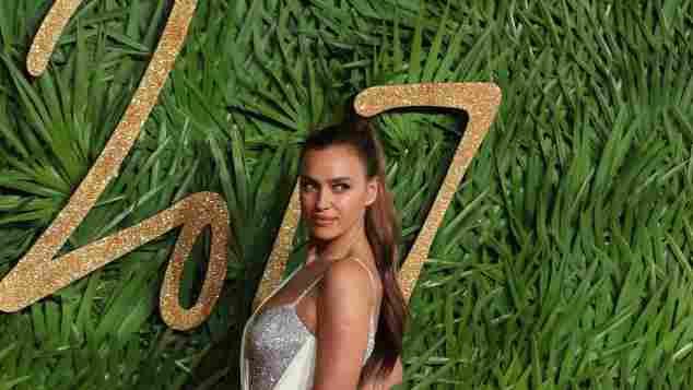Irina Shayk Anfang Dezember 2017 bei den Fashion Awards in London, Bradley Cooper