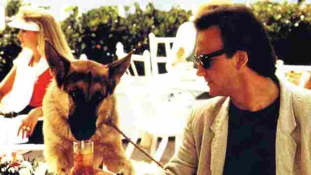 """1988 James """"Jim"""" Belushi in """"Mein Partner mit der kalten Schnauze"""""""