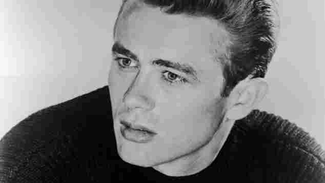 Eine Portraitaufnahme von James Dean