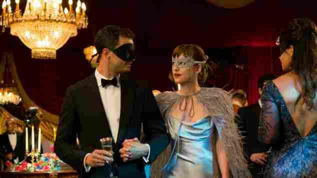"""Shades of Grey"": Jamie Dornan und Dakota Johnson"