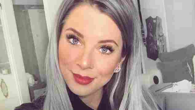 Jenny Frankhauser Single graue Haare