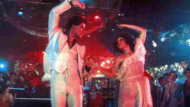 Saturday Night Fever John Travolta und Karen Lynn Gorney