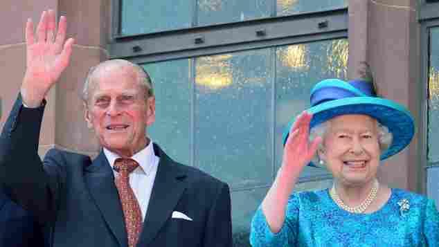 Königin Elisabeth II und Prinz Philip zu Besuch in Frankfurt