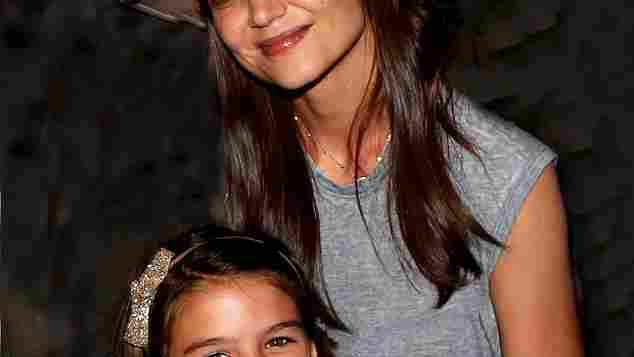 Mama Katie Holmes und Suri Cruise