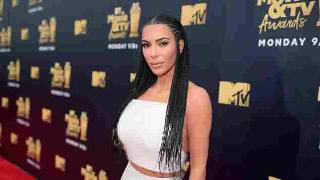 Kim Kardashian MTV TV & Movie Awards