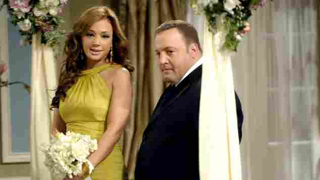 King of Queens Kevin James Leah Remini