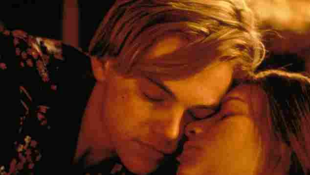 """Leonardo Dicaprio und Claire Danes in """"Romeo und Julia"""""""