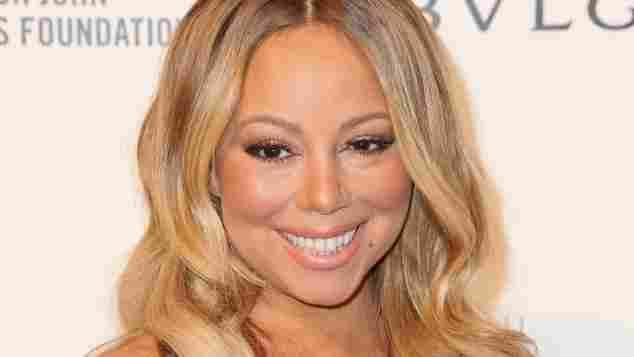 Mariah Carey nach ihrer Brust-OP