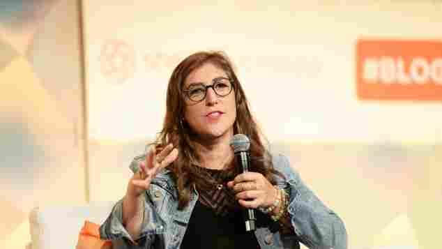 """The Big Bang Theory""-Star Mayim Bialik bei einer Konferenz in Los Angeles"