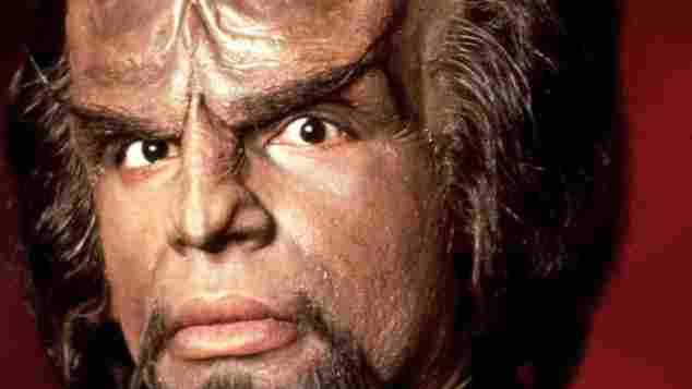 "Michael Dorn alias ""Commander Worf"" ""Star Trek"""