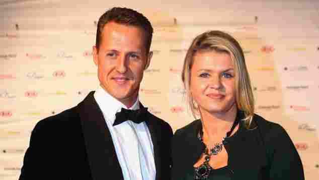 Michael Schumacher Hall of Fame Formel 1 Legende Motorsport Weltmeister Corinna Unfall Rennfahrer Sportler Corinna Schumacher Ehefrau Sportpresseball 2012