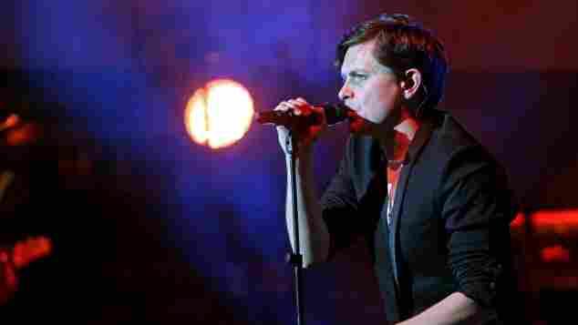 Michael Patrick Kelly bei einem seiner Konzerte