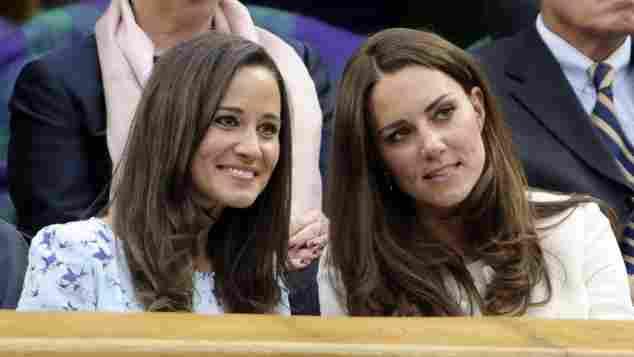 Pippa Middleton Herzogin Catherine Kate Royal Wimbledon Schwestern Tennis