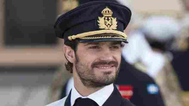 Prinz Carl Philip von Schweden attraktiv