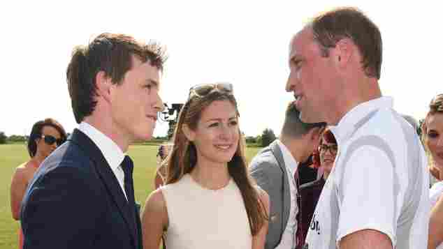 Prinz William Eddie Redmayne Polo Freunde