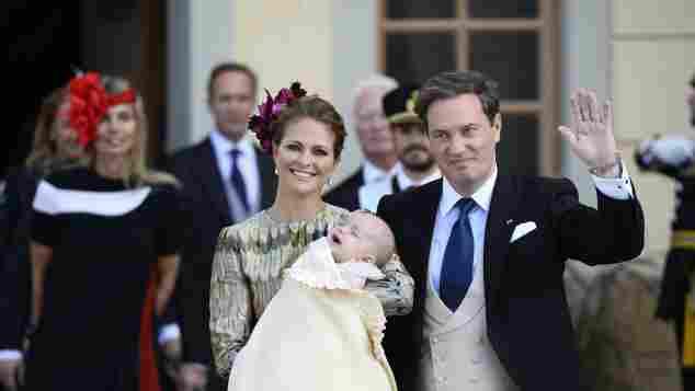 Am 11. Oktober 2015 wurde Prinz Nicolas von Schweden getauft