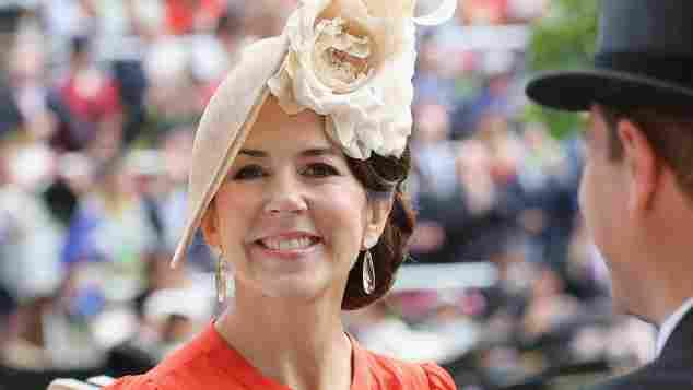 Prinzessin Mary von Dänemark beim Ascot Pferderennen