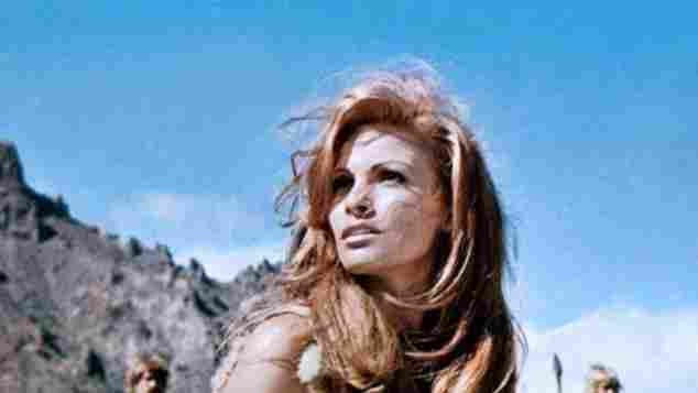 Raquel Welch früher sexy Eine Million Jahre vor unserer Zeit