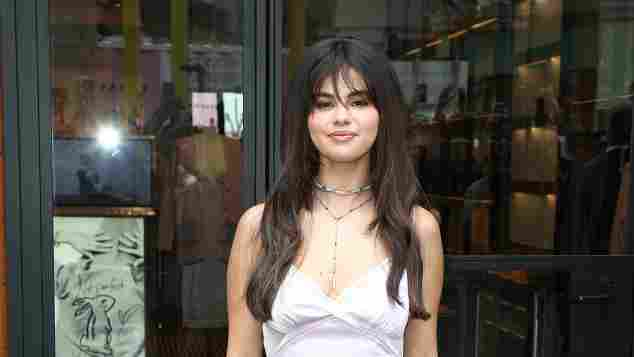 Selena Gomez bei einem Meet and Greet in Los Angeles