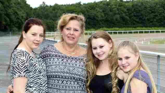 Silvia Wollny mit ihren Kindern