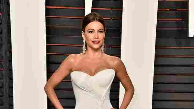 Sofie Vergara auf der Vanity Fair Oscar Party