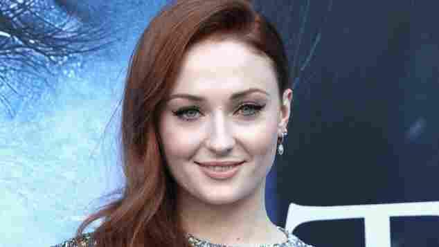 Sophie Turner Game of Thrones Premiere