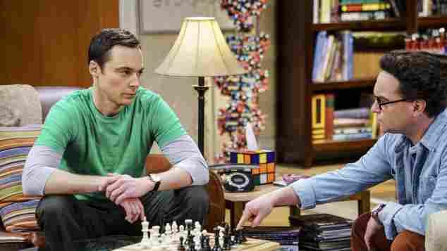 """The Big Bang Theory"": ""Sheldon"" und ""Leonard"""